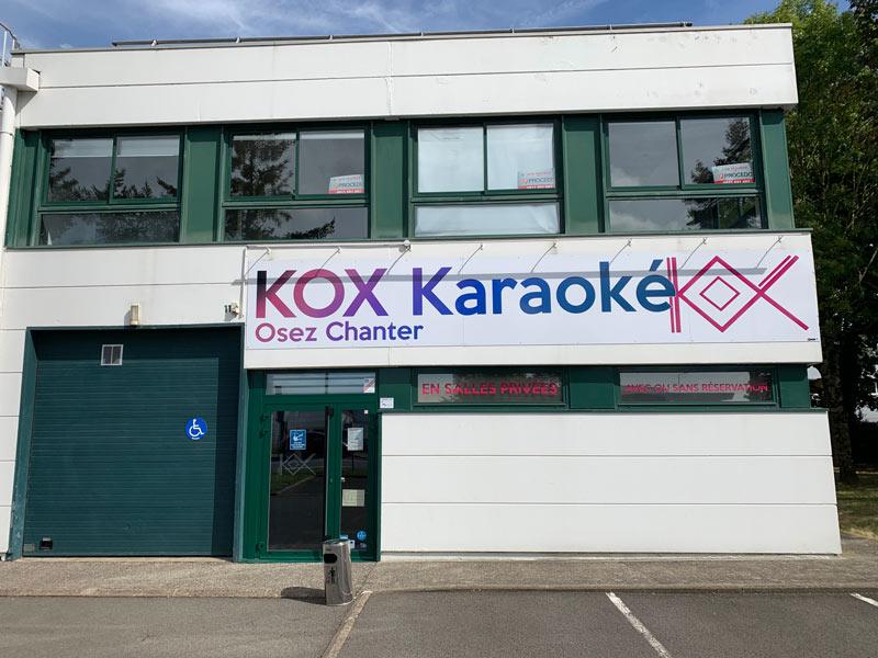 Façade Kox Karaoké à Nantes